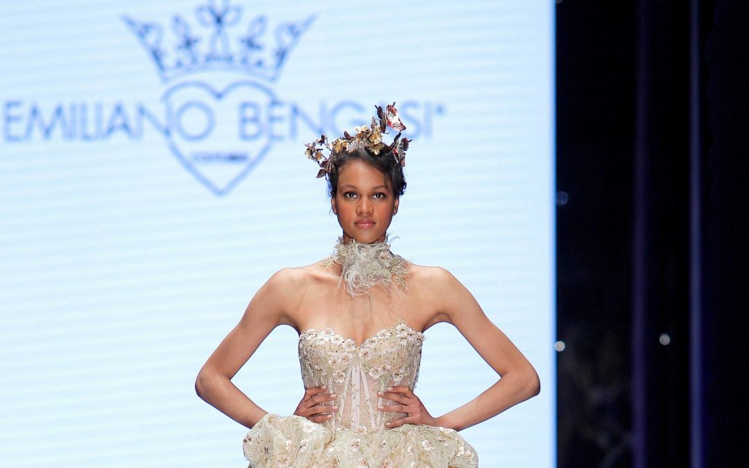 Sì Sposaitalia: Emiliano Bengasi's Bridal Couture fairy tale