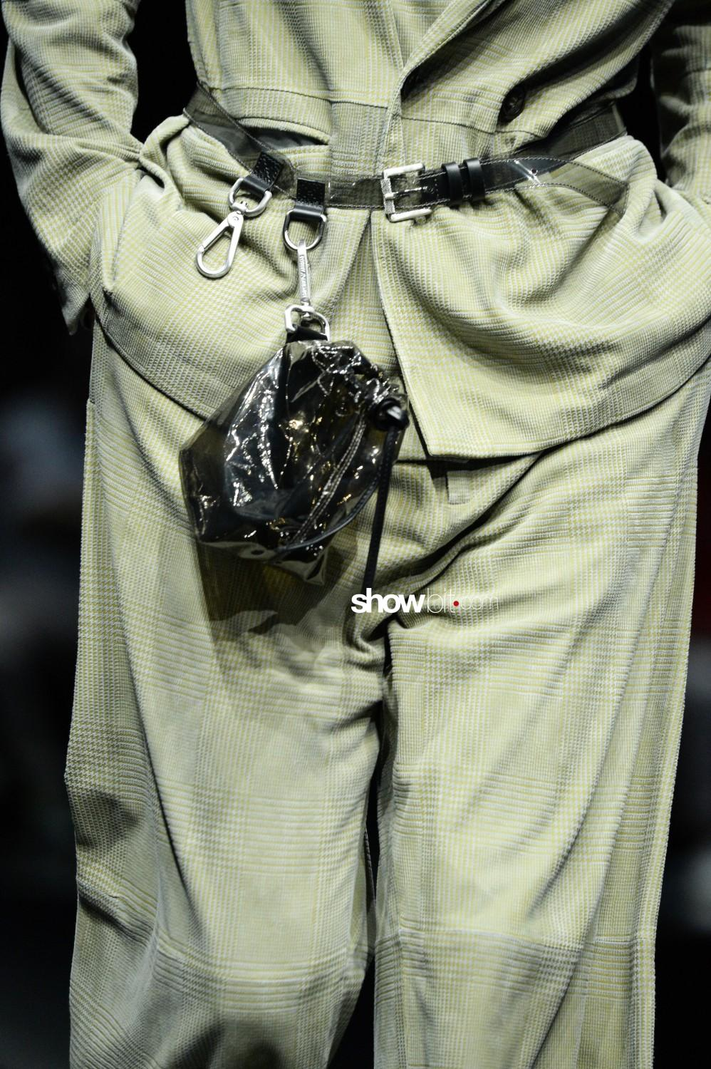 Emporio Armani close-up Man Spring Summer 2020 Milano