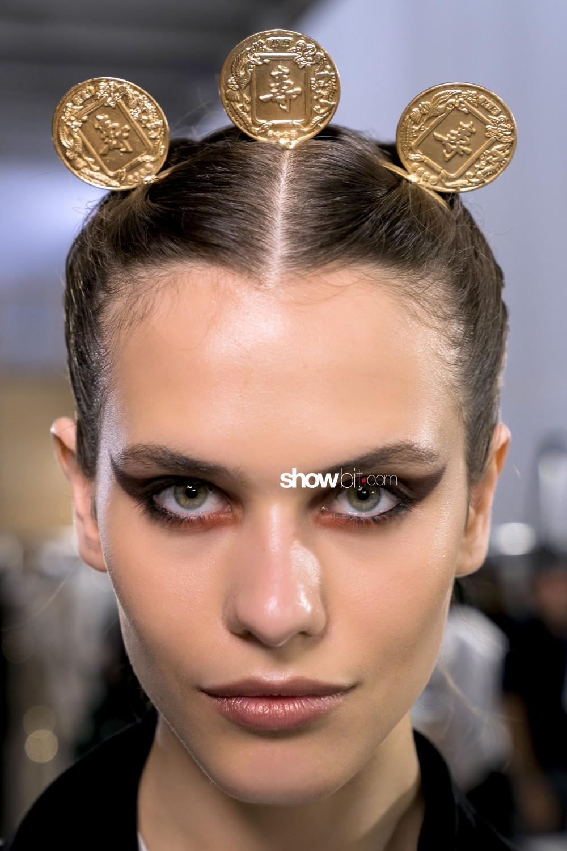 Elie Saab beauty backstage Haute Couture Fall Winter 2019 2020 Paris