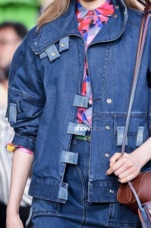 Coach close-up Women Spring Summer 2020 New York