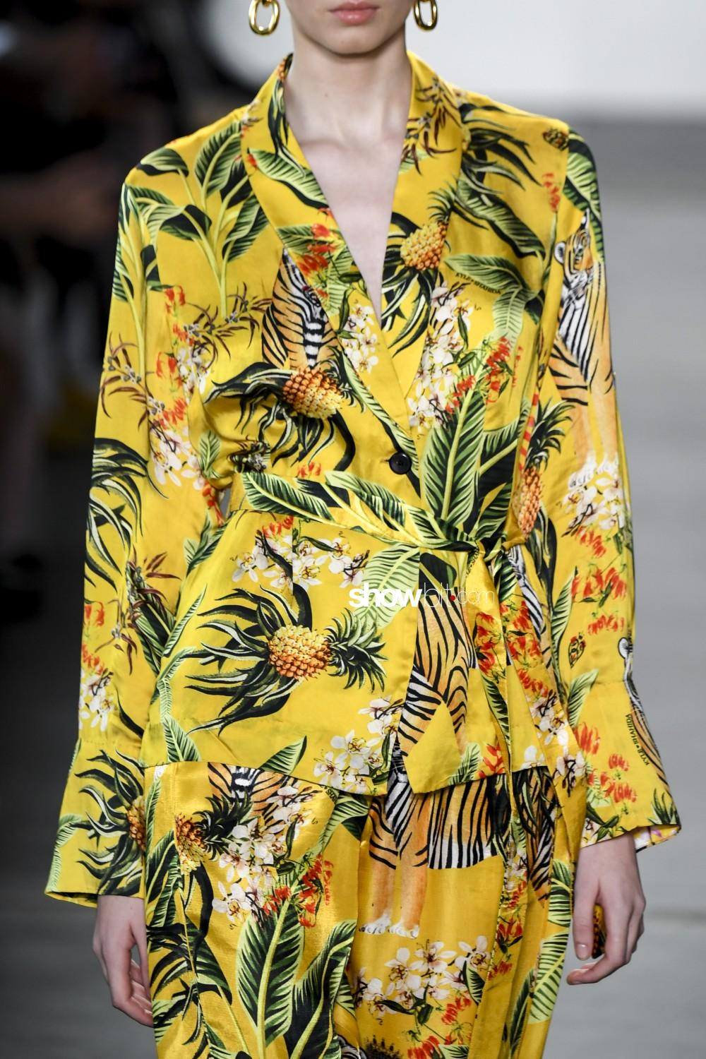 Kyle and Shahida close-up Women Spring Summer 2020 New York prints