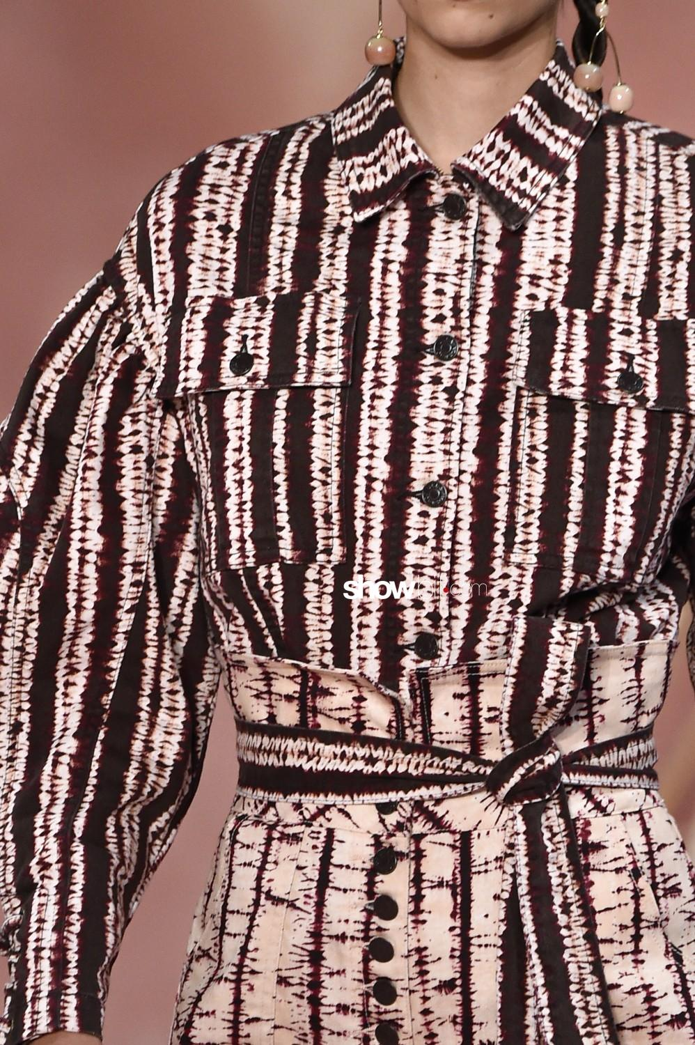 Ulla Johnson close-up Women Spring Summer 2020 New York prints