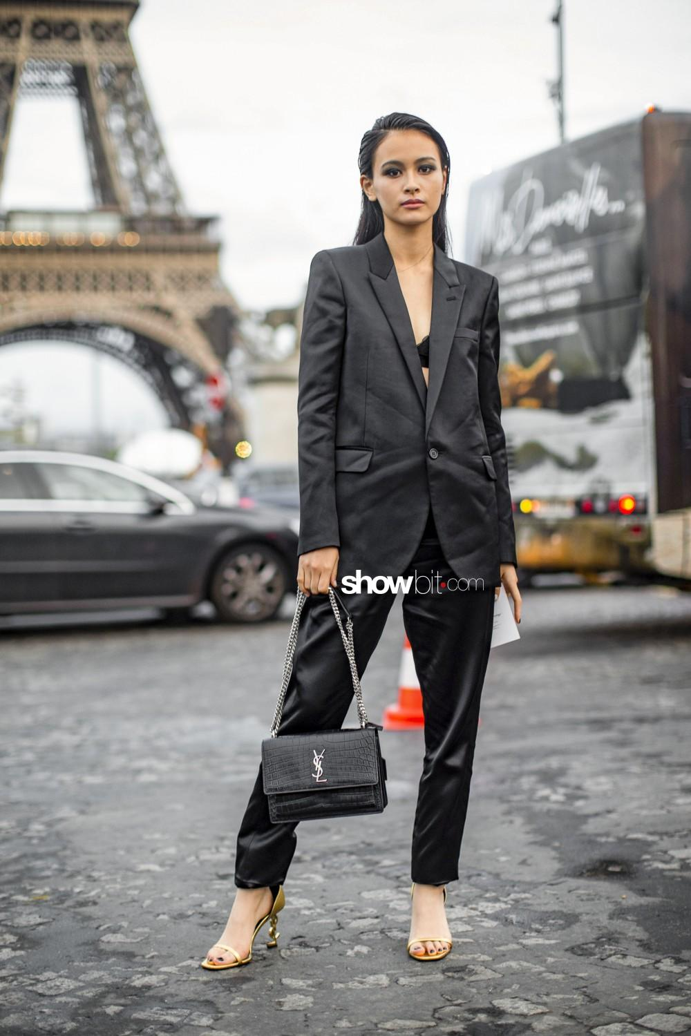 Saint Laurent people Women Spring Summer 2020 Paris