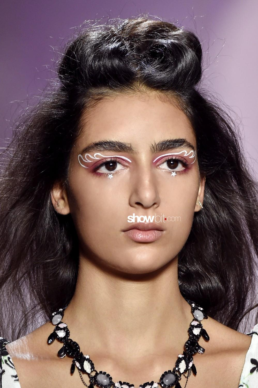Anna Sui beauty Women Spring Summer 2020 New York