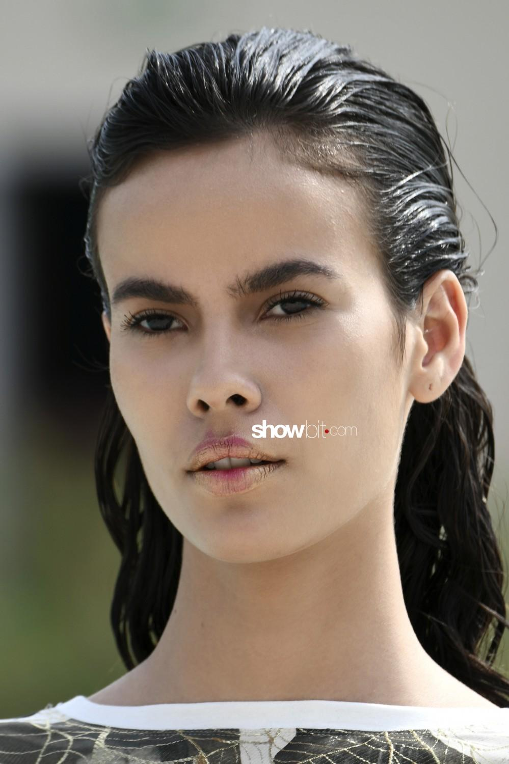 Francesca Liberatore beauty Women Spring Summer 2020 Milano
