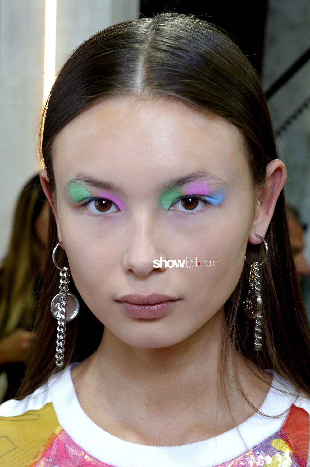 Iceberg beauty backstage Women Men Spring Summer 2020 Milano