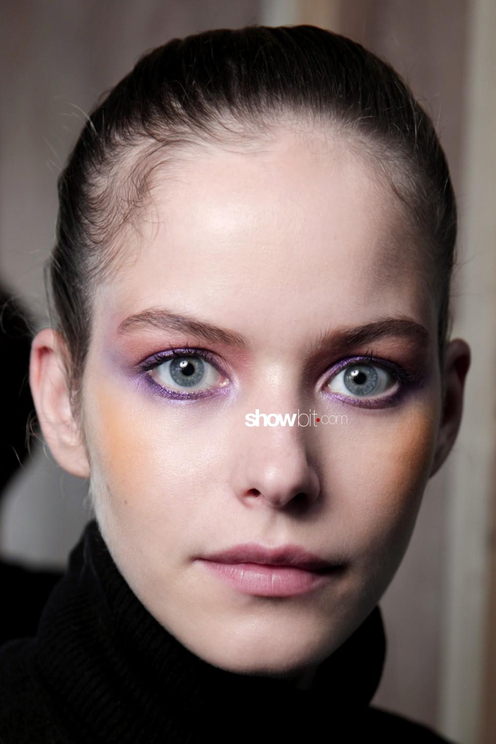 Mark Fast beauty backstage Women Spring Summer 2020 London