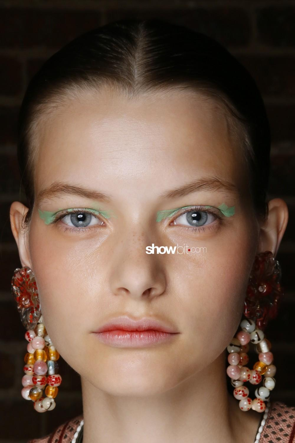 Ulla Johnson beauty backstage Spring Summer 2020 New York