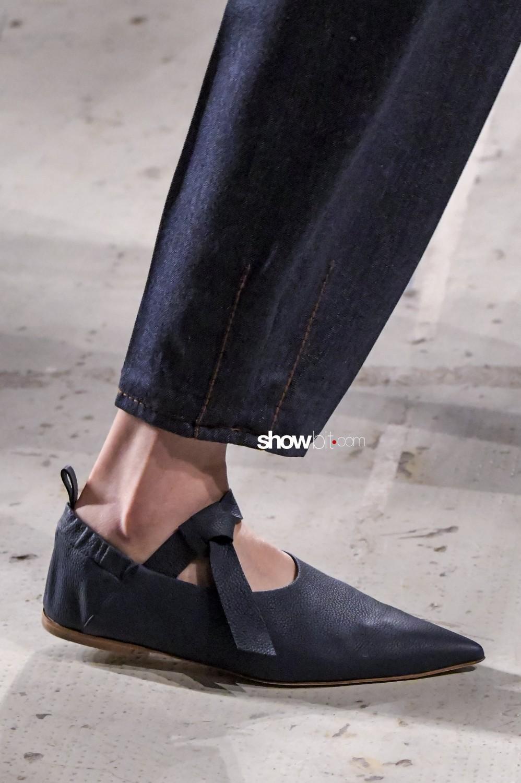 Agnona close-up Women Fall Winter 2020 Milano shoes