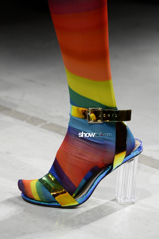 Annakiki close-up Women Fall Winter 2020 Milano shoes