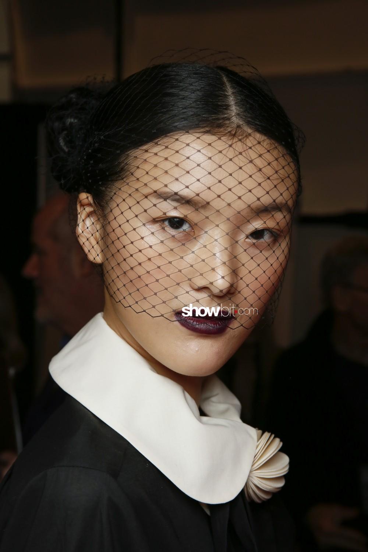 Chocheng beauty backstage Women Fall Winter 2020 New York