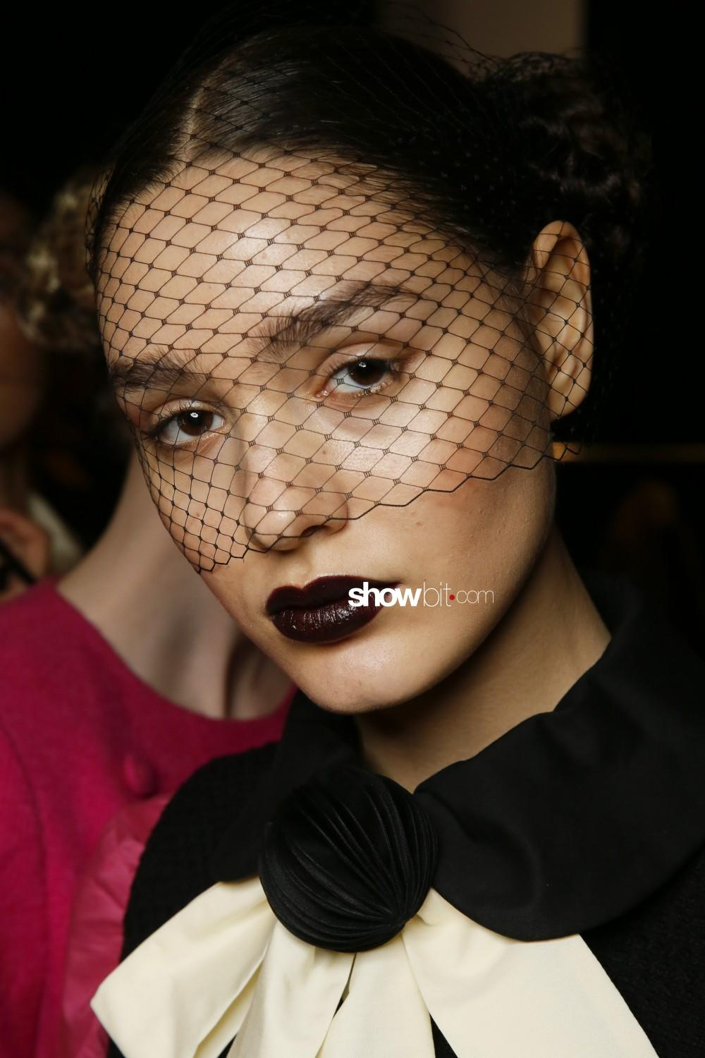 Chocheng beauty backstage Women Fall Winter 2020 New York