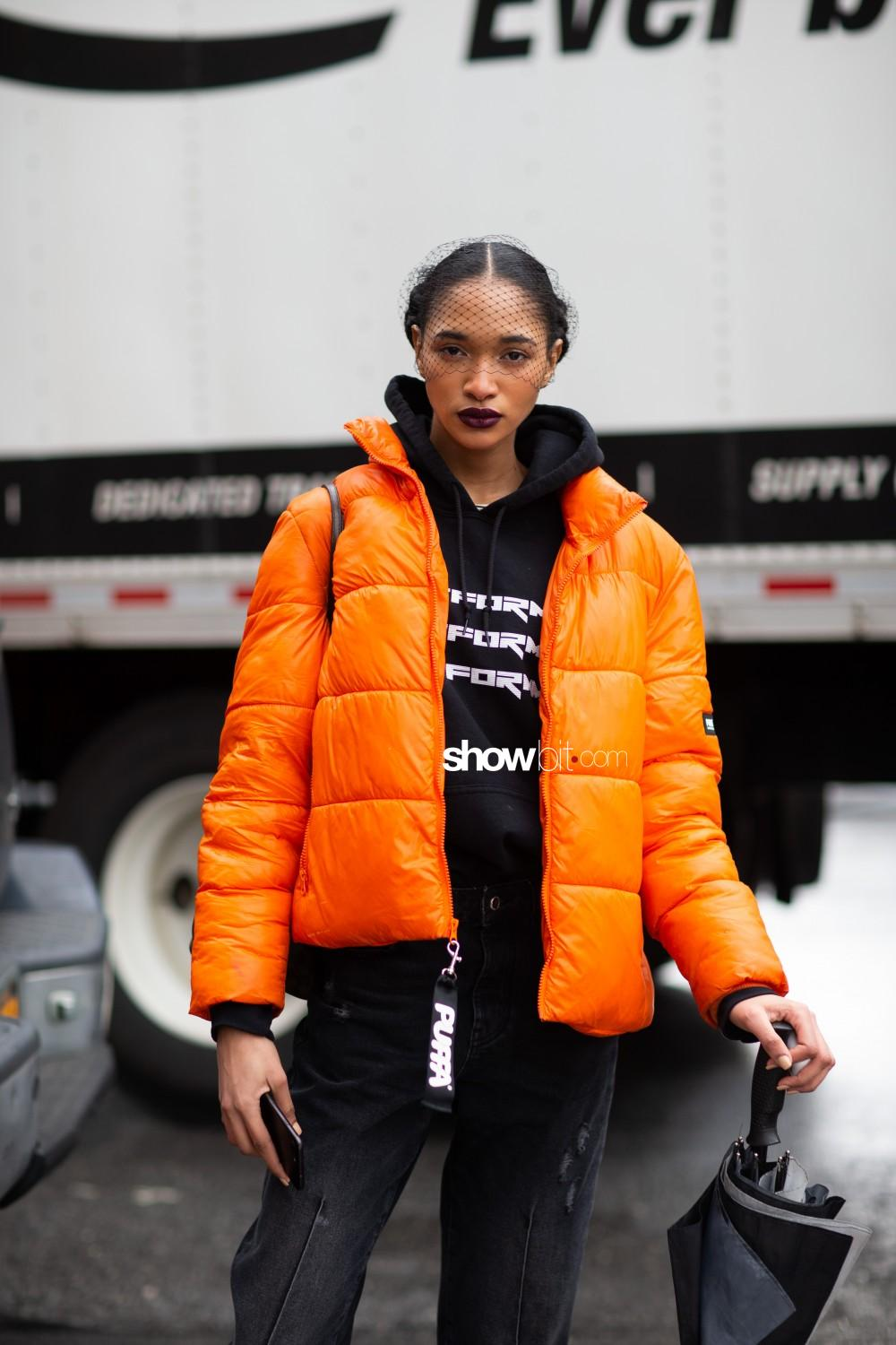 Chocheng people street style Women Fall Winter 2020 New York