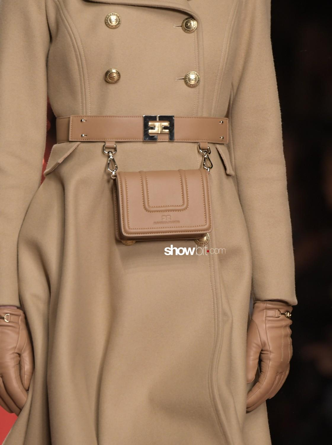 Elisabetta Franchi close-up Women Fall Winter 2020 Milano bags