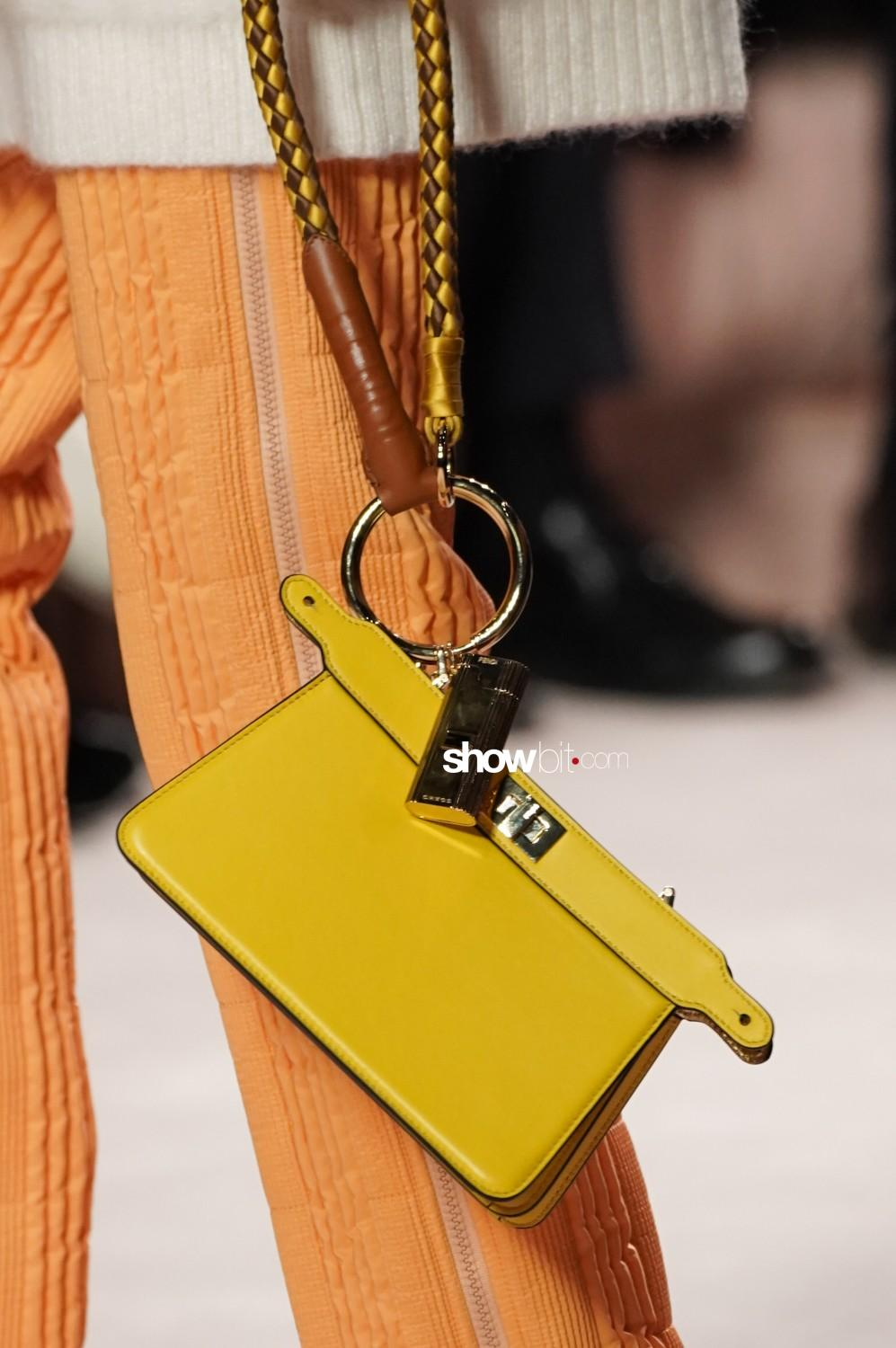 Fendi close-up Women Fall Winter 2020 Milano bags