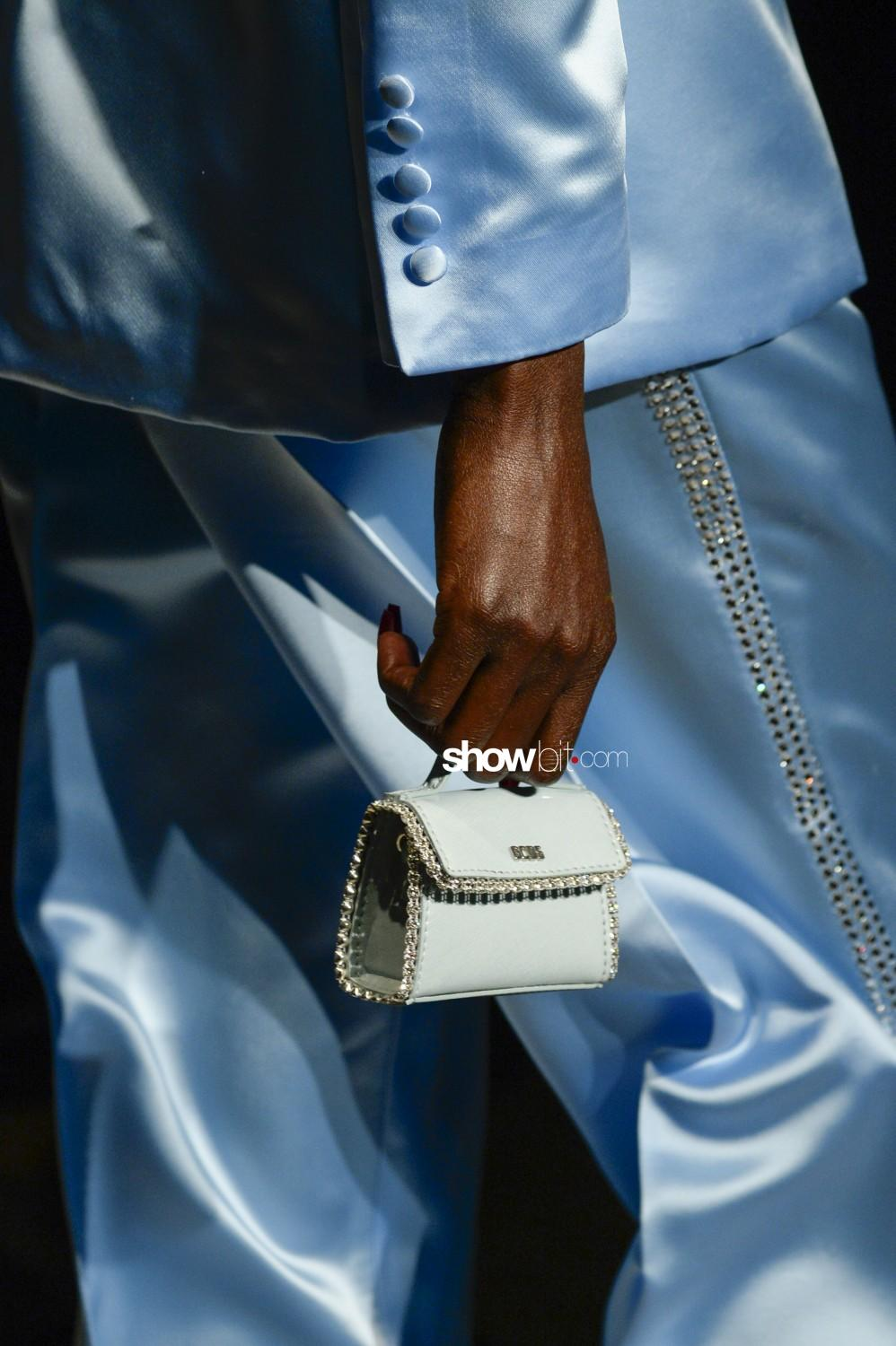 GCDS close-up Women Fall Winter 2020 Milano bags