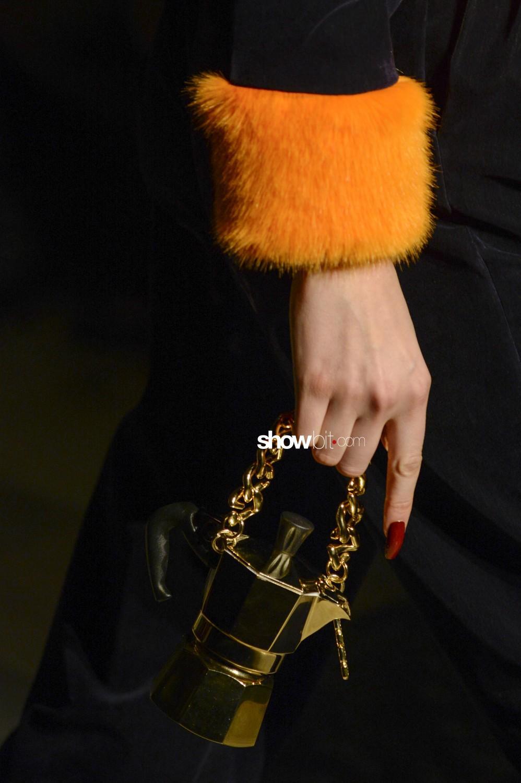 GCDS close-up Women Fall Winter 2020 Milano bags