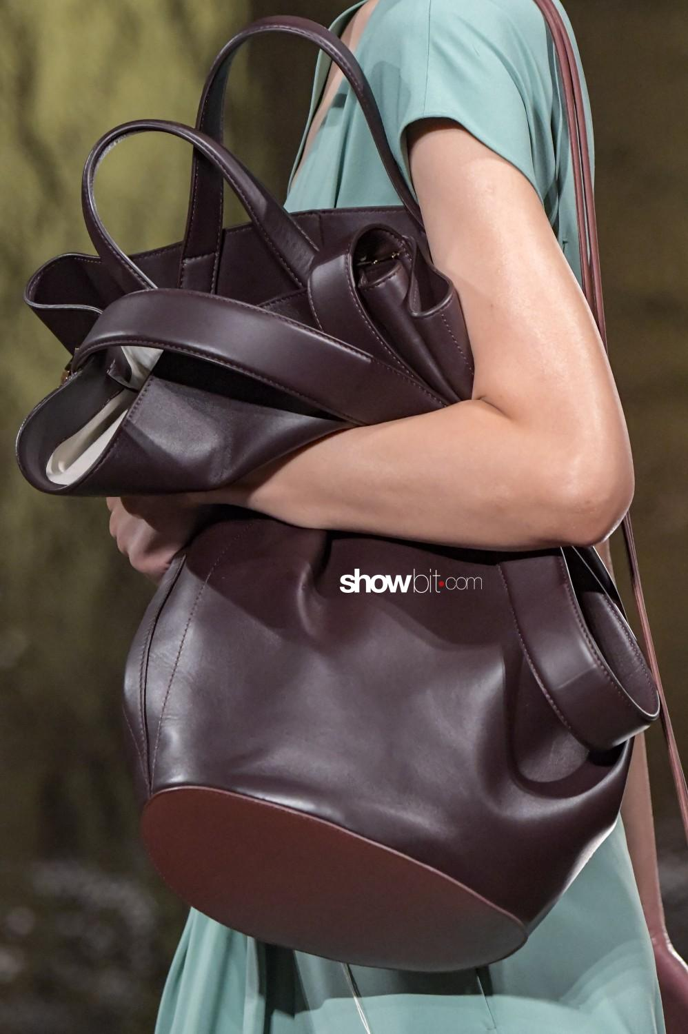 Gabriele Colangelo close-up Women Fall Winter 2020 Milano bags