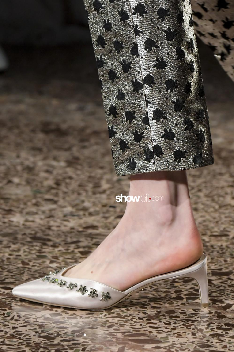 Genny close-up Women Fall Winter 2020 Milano shoes
