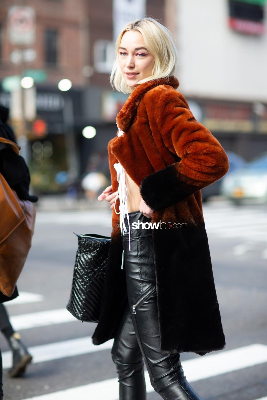 Jonathan Cohen people street style Women Fall Winter 2020 New York