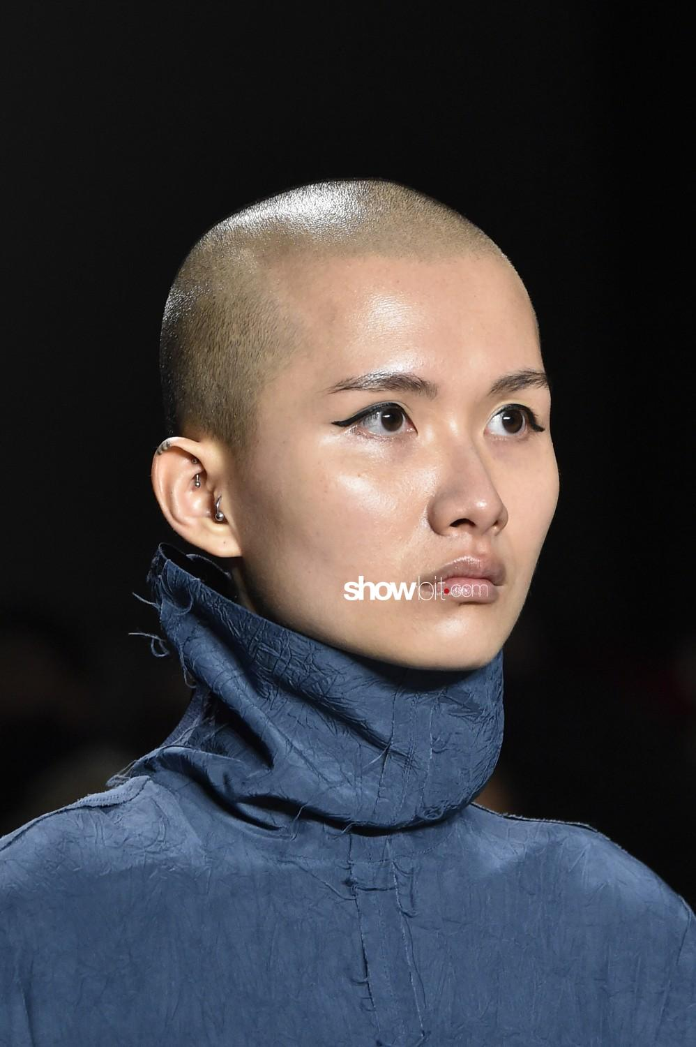 Lise beauty runway Men Women Fall Winter 2020 2021 New York
