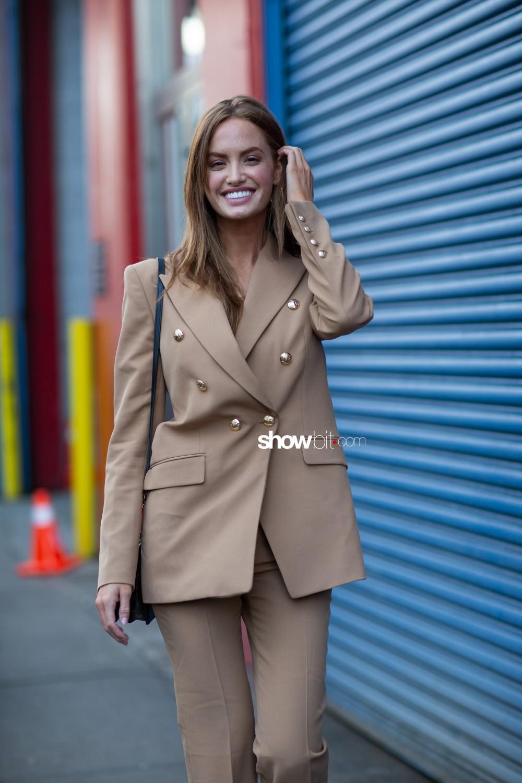 Pamella Roland people street style Women Fall Winter 2020 New York