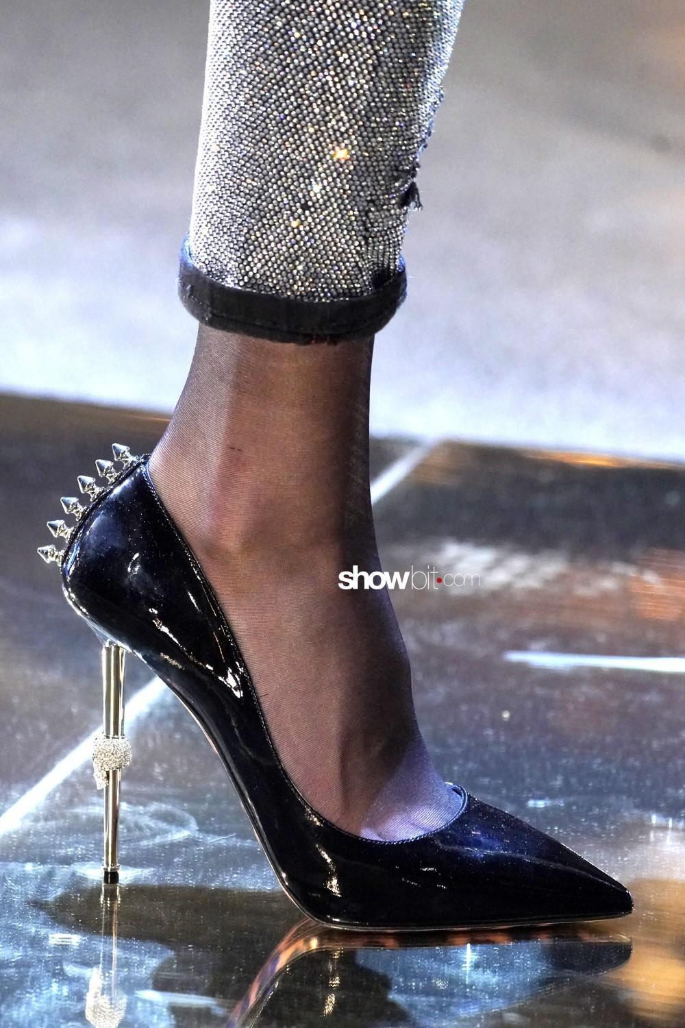 Philipp Plein close-up Women Fall Winter 2020 Milano shoes