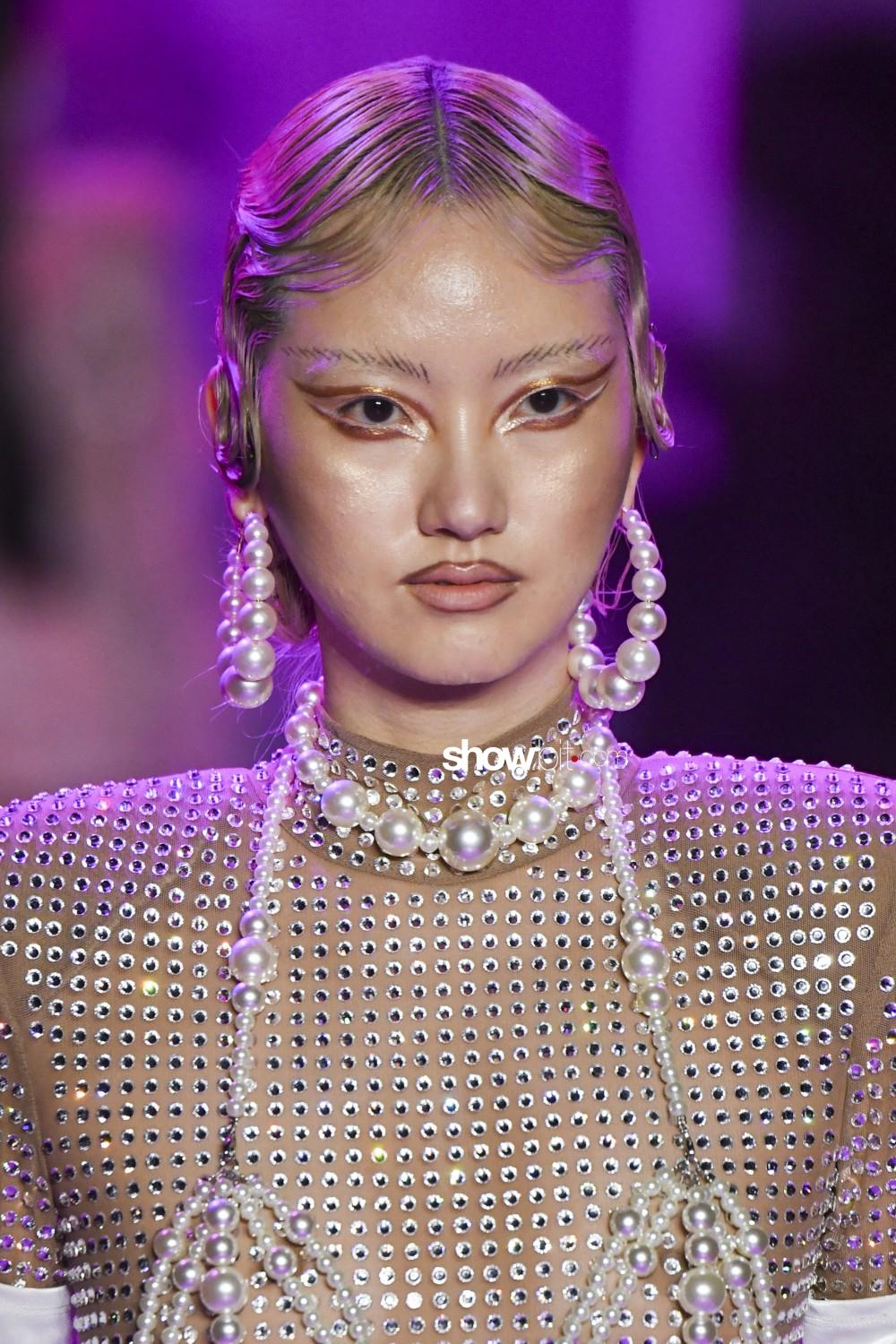 The Blonds beauty runway Women Fall Winter 2020 New York
