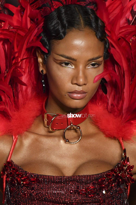 The Blonds beauty runway Women Fall Winter 2020 New York