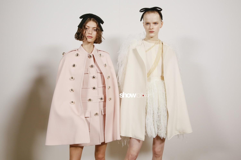 Giambattista Valli backstage Women Fall Winter 2020 2021 Paris