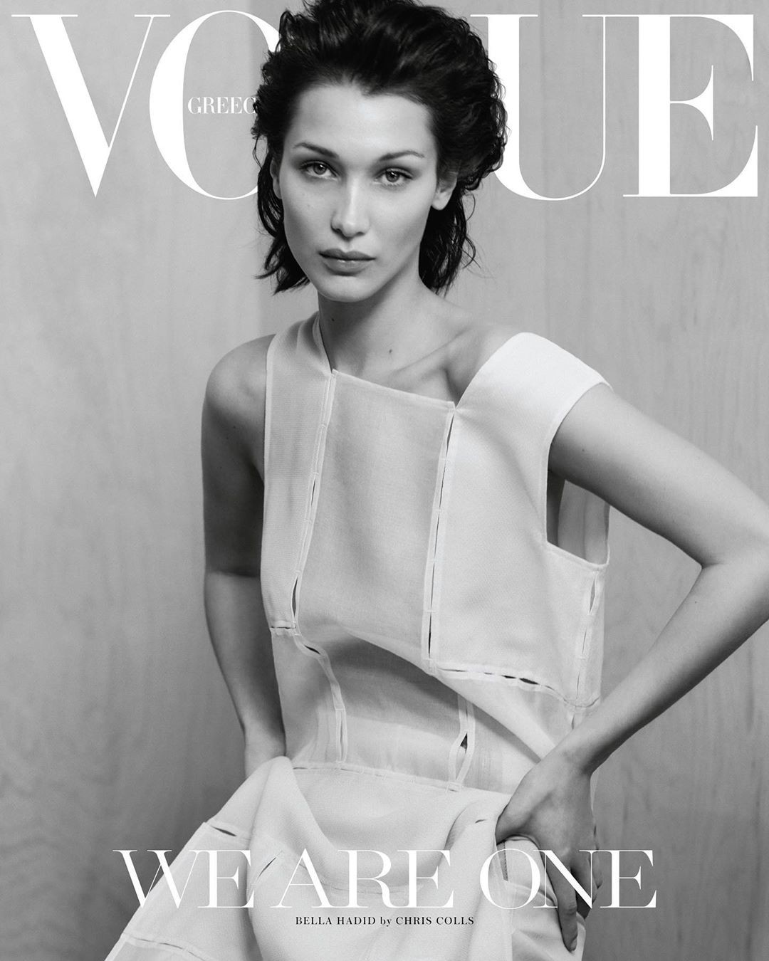 Vogue Greece april 2020 Bella Hadid