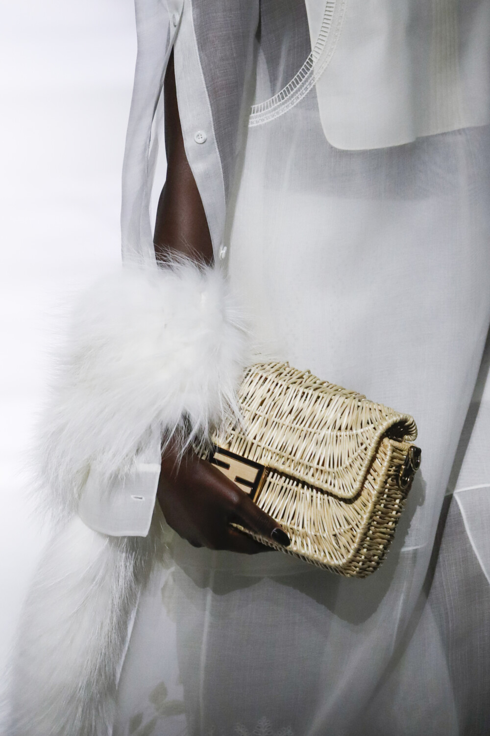 Fendi close-up Women Men Spring Summer 2021 Milano