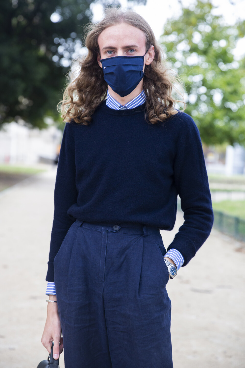Acne Studios people street style Women Men Spring Summer 2021 Paris