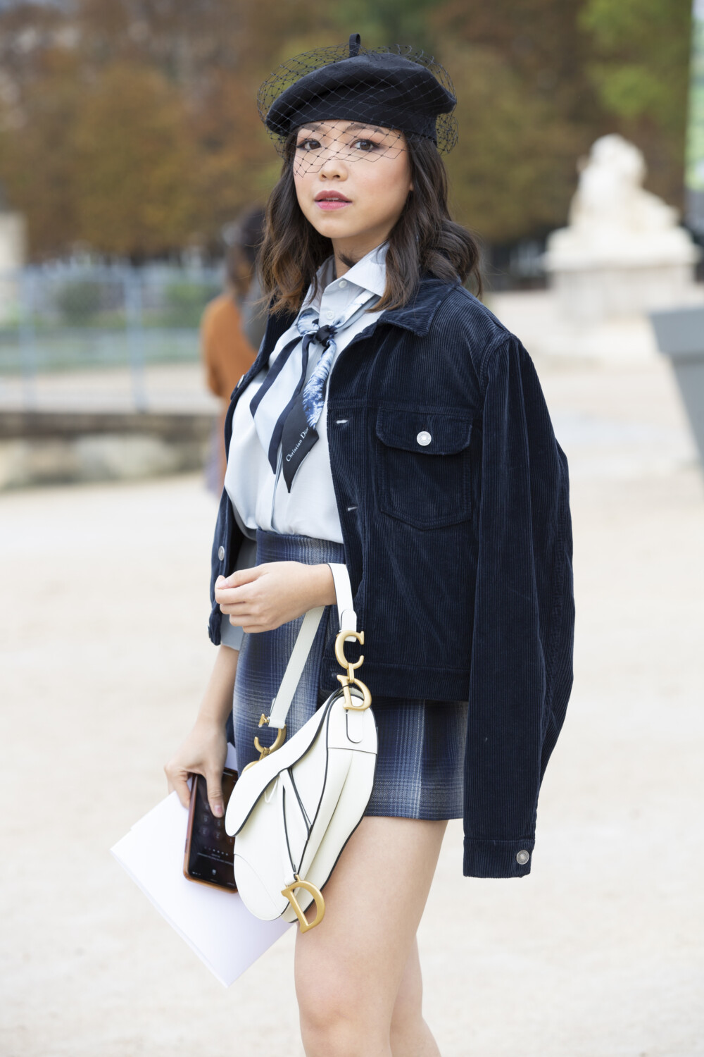 Christian Dior people street style Women Spring Summer 2021 Paris