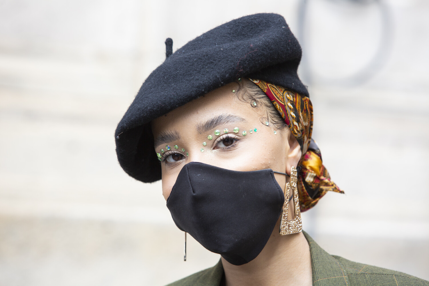 Gabriela Hearst people street style Women Spring Summer 2021 Paris