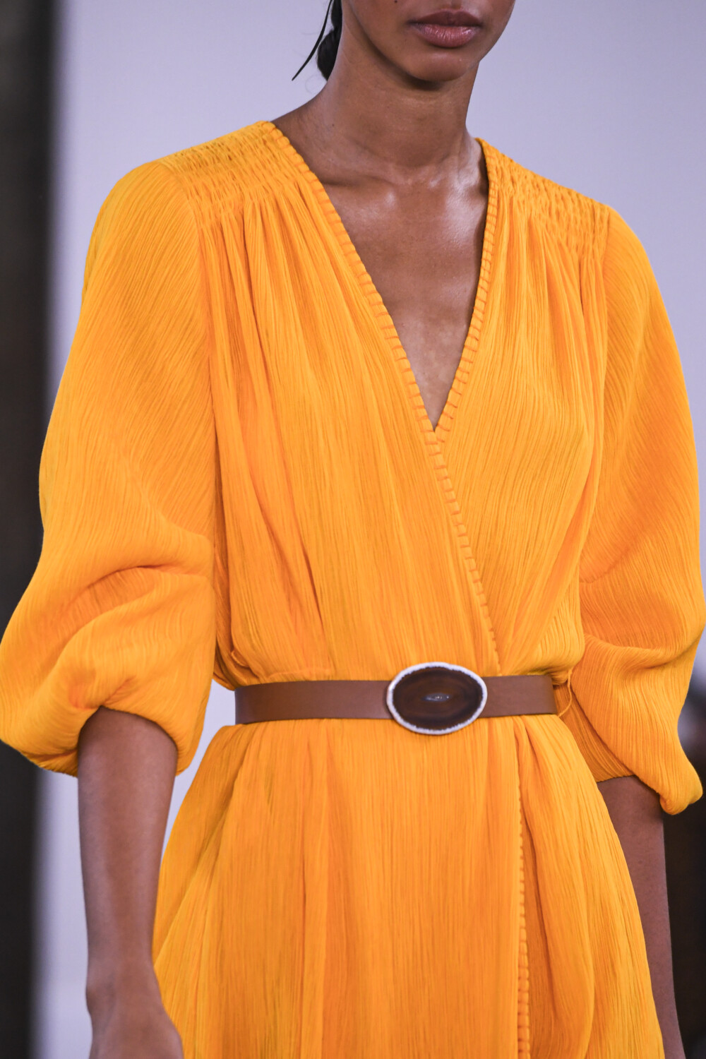 Gabriela Hearst close-up Women Spring Summer 2020 New York