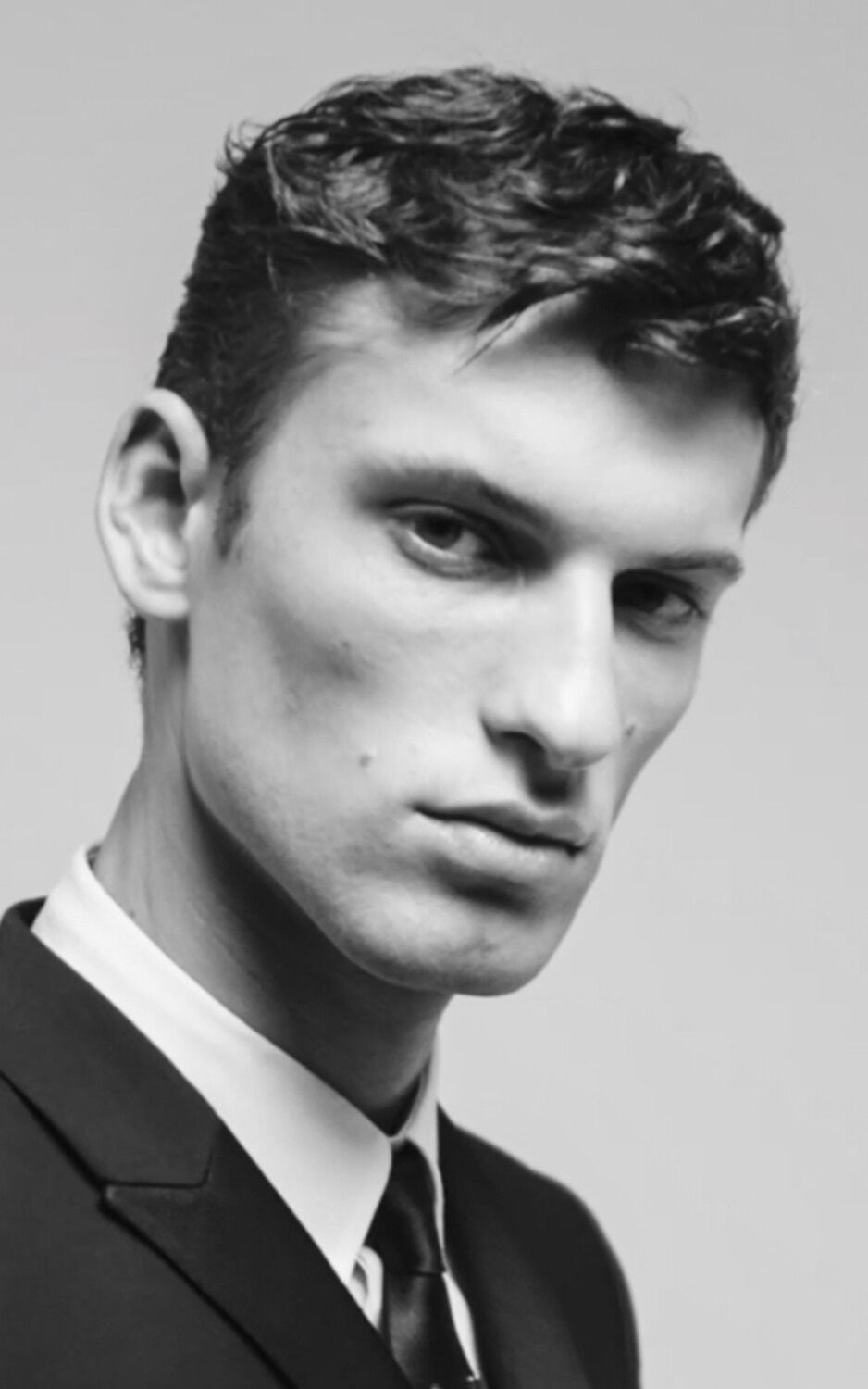 Les Hommes beauty Men Fall Winter 2021 2022 Milano
