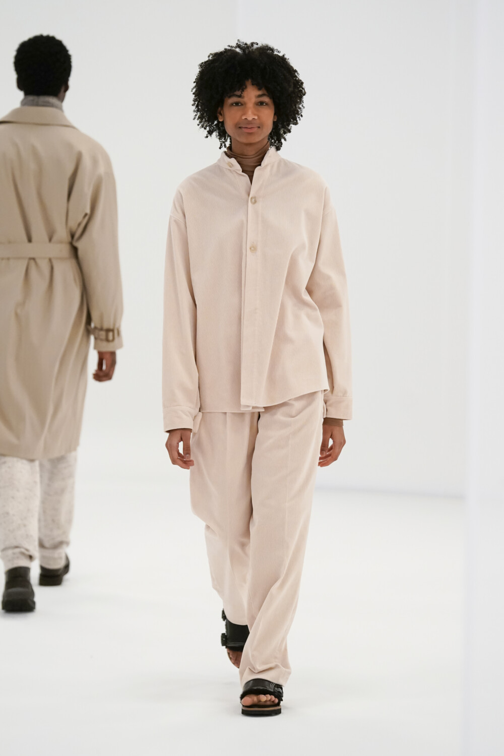 Auralee Women Men Fall Winter 2021 2022 Paris