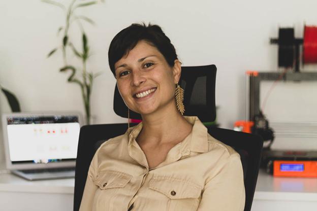 Francesca Flore, entrepreneur, launching her new project Go Bagly